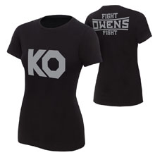 """Kevin Owens """"KO Fight"""" Women's Authentic T-Shirt"""