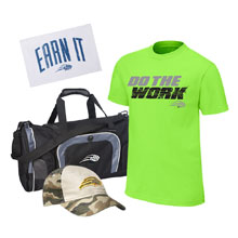 CENA Training Youth T-Shirt Package