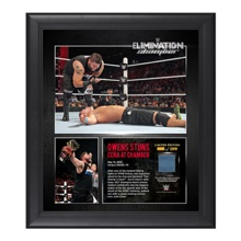 Kevin Owens Elimination Chamber 15  x 17 Framed Ring Canvas Photo Collage