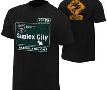 "Brock Lesnar ""Suplex City: Cleveland"" Authentic T-Shirt"