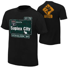 "Brock Lesnar ""Suplex City: Cleveland"" Authentic T-Shirt"