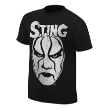 """Sting """"Black & White Face Paint"""" T-Shirt"""