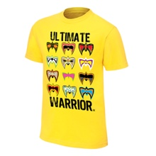 """Ultimate Warrior """"I Am The Ultimate Warrior"""" T-Shirt"""