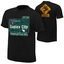 "Brock Lesnar ""Suplex City: Minneapolis"" Authentic T-Shirt"