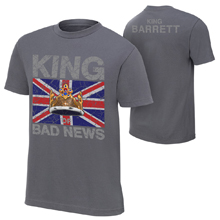 "Bad News Barrett ""King Barrett"" Authentic T-Shirt"