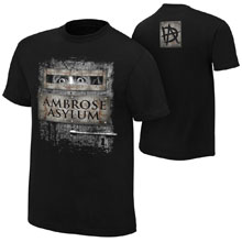 "Dean Ambrose ""Ambrose Asylum"" Youth Authentic T-Shirt"