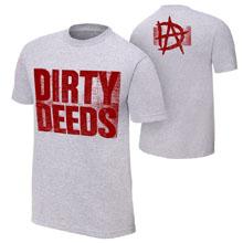 "Dean Ambrose ""Dirty Deeds"" Authentic T-Shirt"