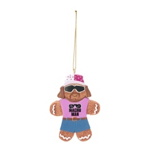 Macho Man Gingerbread Ornament