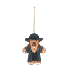 The Undertaker Gingerbread Ornament
