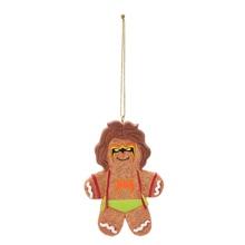 Ultimate Warrior Gingerbread Ornament
