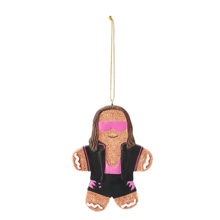 Bret Hart Gingerbread Ornament