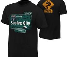 """Brock Lesnar """"Suplex City: London"""" Authentic T-Shirt"""