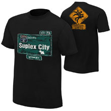 "Brock Lesnar ""Suplex City: Sydney"" Authentic T-Shirt"