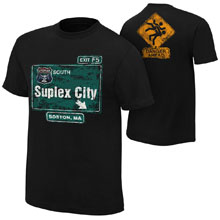 "Brock Lesnar ""Suplex City: Boston"" Authentic T-Shirt"