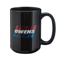 """Kevin Owens """"Fight Owens Fight"""" 15 oz. Mug"""