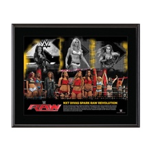 NXT Divas RAW Revolution 10.5 x 13 Photo Collage Plaque