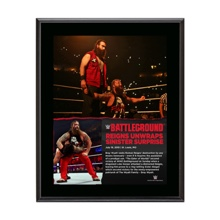 Bray Wyatt Battleground 10.5 x 13 Photo Collage Plaque