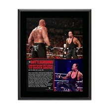 The Undertaker Battleground 10.5 x 13 Photo Collage Plaque