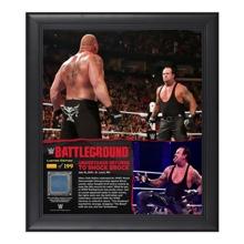 The Undertaker Battleground 15  x 17 Framed Ring Canvas Photo Collage