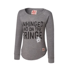 "Dean Ambrose ""Unhinged and on the Fringe"" Women's Pullover Sweatshirt"