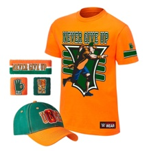 "John Cena ""15X"" Authentic T-Shirt Package"