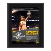 Bayley NXT TakeOver: Brooklyn 10.5 x 13 Photo Collage Plaque