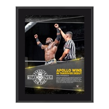 Apollo Crews NXT TakeOver: Brooklyn 10.5 x 13 Photo Collage Plaque