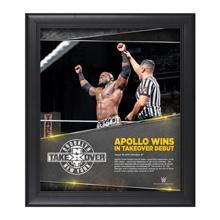 Apollo Crews NXT TakeOver: Brooklyn 15 x 17 Photo Collage Plaque