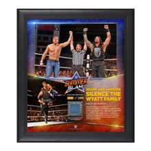Dean Ambrose & Roman Reigns SummerSlam 2015 15 x 17 Photo Collage Plaque