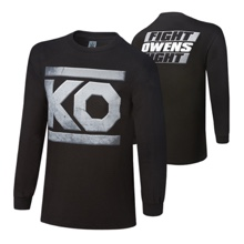 "Kevin Owens ""KO Fight"" Long Sleeve T-Shirt"