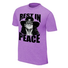 "The Undertaker ""Rest in Peace"" T-Shirt"