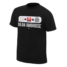 "Dean Ambrose ""Emoticon"" T-Shirt"