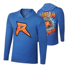 "Ryback ""Feeding Time"" Tri-Blend Long Sleeve Hooded Shirt"
