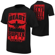 "Brock Lesnar ""Go To Hell Tour: NYC"" Event T-Shirt"