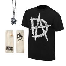 "Dean Ambrose ""DA"" Logo T-Shirt Package"