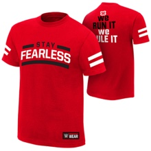 """Nikki Bella """"Stay Fearless"""" Authentic T-Shirt"""