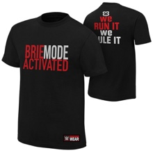 "Brie Bella ""Brie Mode Activated"" Authentic T-Shirt"