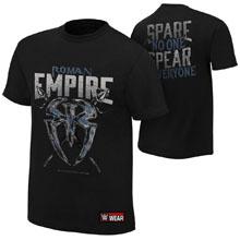 """Roman Reigns """"Roman Empire"""" Authentic T-Shirt"""