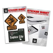 """Brock Lesnar """"Suplex City"""" Sticker Sheet"""