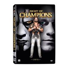 WWE Night of Champions 2015 DVD