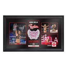 "Nikki Bella ""Longest Reigning Divas Champion"" Signed Commemorative Plaque"