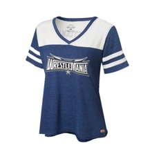 WrestleMania 32 Women's Football T-Shirt
