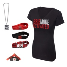 "Brie Bella ""Brie Mode Activated"" Women's T-Shirt Package"