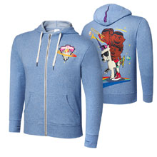 "New Day ""Feel the Power"" Unisex Lightweight Full-Zip Hoodie Sweatshirt"