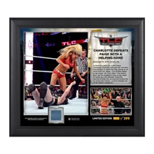 WWE TLC 2015 Charlotte 15 x 17 Photo Collage Plaque
