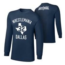 "WrestleMania 32 ""Dallas Branded"" Long Sleeve T-Shirt"