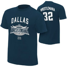 WrestleMania 32 Blue Jersey T-Shirt