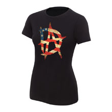 "Dean Ambrose ""American Pride"" Women's T-Shirt"