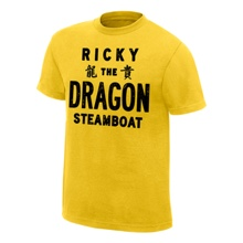 "Ricky ""The Dragon"" Steamboat Vintage T-Shirt"