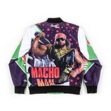 "Macho Man"" Randy Savage Vintage Jacket"